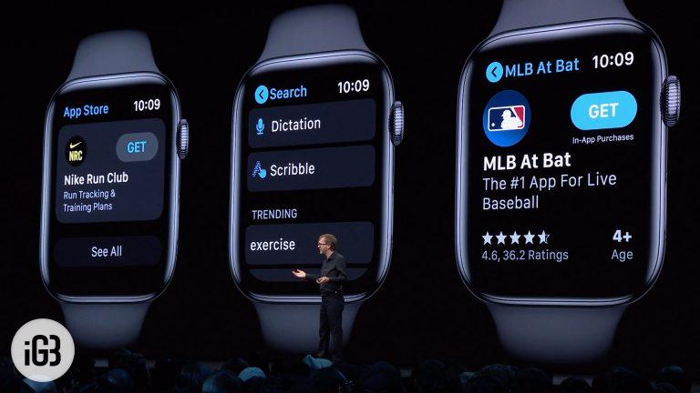 Как установить watchOS 6.1.2 Beta 2 на Apple Watch