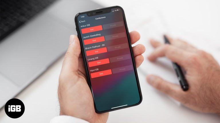 Как сделать конференц-звонок на iPhone