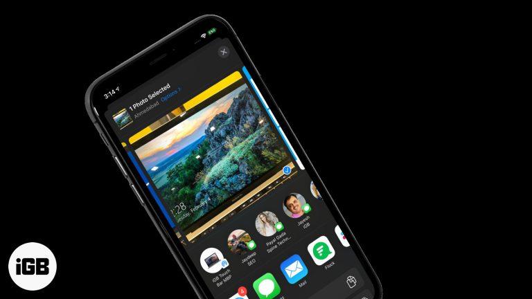 Как удалить контакты из общего листа на iPhone и iPad