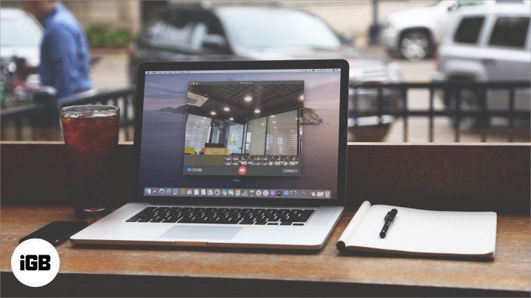 Как сделать снимок на Mac с помощью встроенной камеры