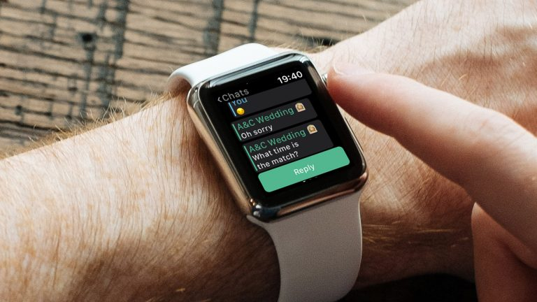 Как использовать WhatsApp на Apple Watch Series 5, 4 и Series 3