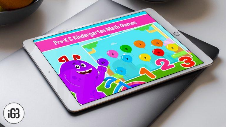 Лучшие математические приложения для iPhone и iPad для детей [2020]