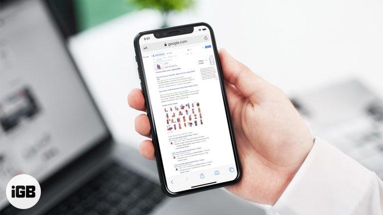 Как сделать обратный поиск изображений на iPhone и iPad [2020]