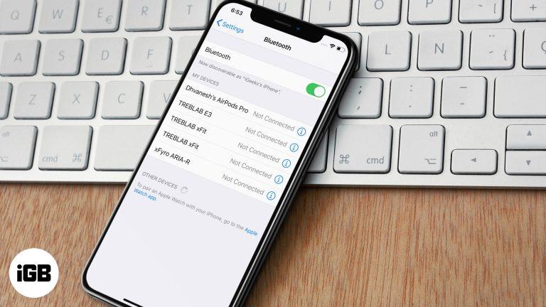 Как исправить отключение AirPods Pro от iPhone, Mac или Apple Watch