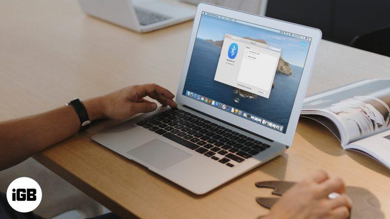 Как исправить ошибку «Bluetooth недоступен» на Mac