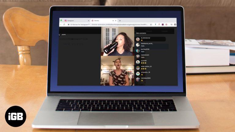 Как смотреть Instagram в прямом эфире на Mac