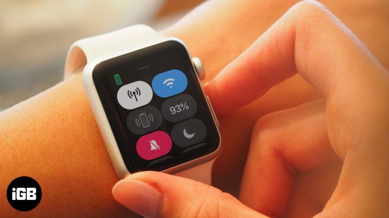 Как исправить ошибку сотовой связи, не работающую над Apple Watch