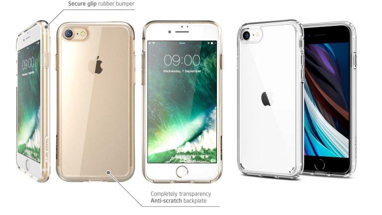 Лучшие iPhone SE 2020 в прозрачных чехлах 2020 года