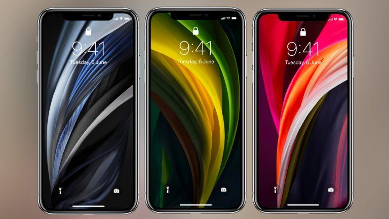 Скачать обои iPhone SE 2 на любое устройство iOS