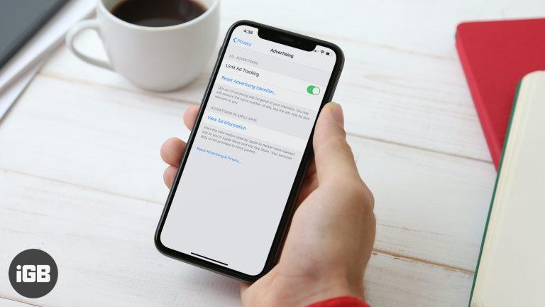 Как отключить отслеживание рекламы в iOS 13 на iPhone или iPad