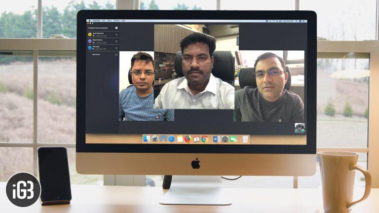 Как сделать групповые звонки FaceTime на Mac
