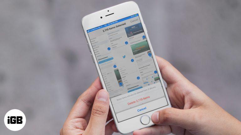Как быстро удалить все фото и видео на iPhone и iPad в iOS 13