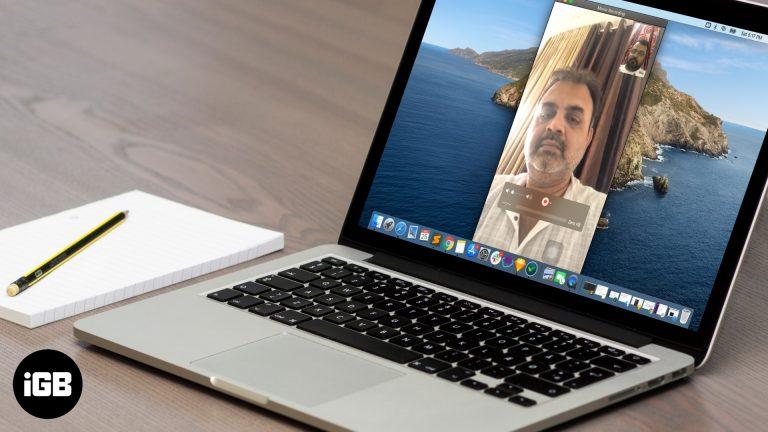 Как записать звонок FaceTime на iPhone, iPad и Mac