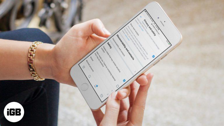 Как увидеть конфиденциальный контент в Twitter на iPhone, iPad и в Интернете