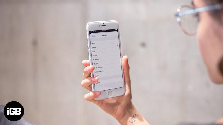 Как установить почасовые напоминания на iPhone, iPad и Mac