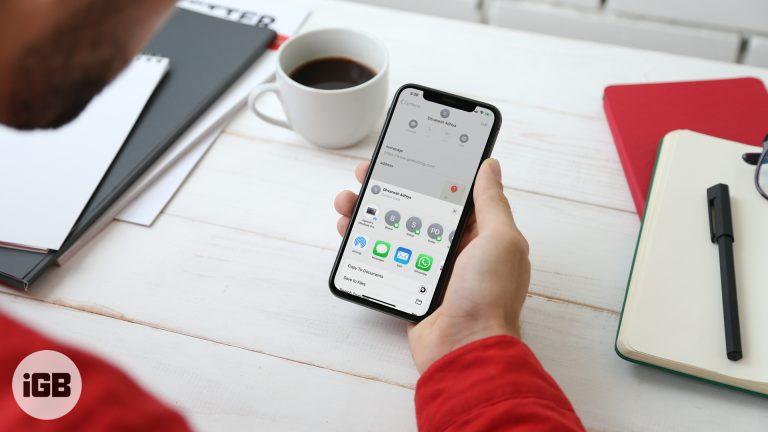 Как поделиться контактами с одного iPhone на другой iPhone