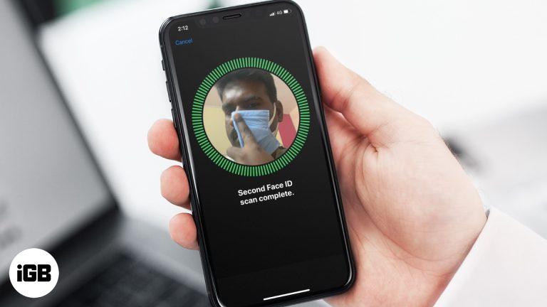 Как разблокировать iPhone Face ID с маской на