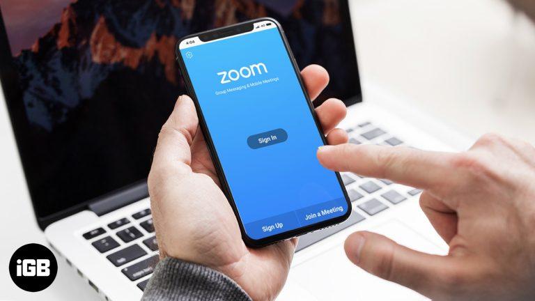 Как использовать приложение Zoom на iPhone и iPad: полное руководство