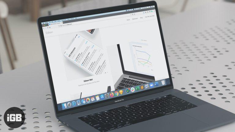 Edison Mail App для Mac Обзор