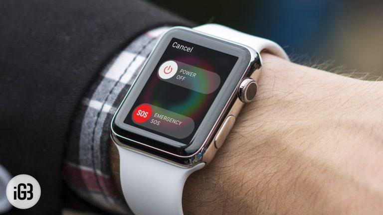 Как принудительно выйти из приложений Apple Watch