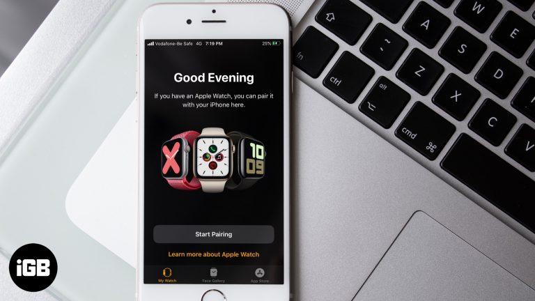 Как связать Apple Watch с iPhone
