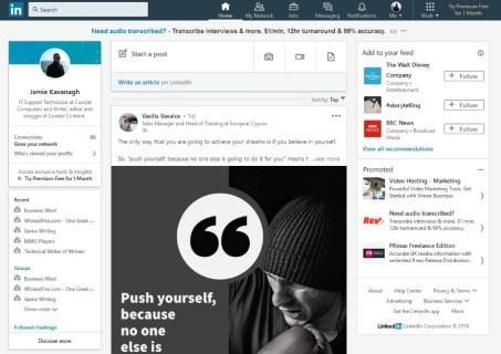 Как узнать, прочитал ли кто-нибудь ваше сообщение в LinkedIn