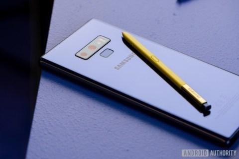 Как отключить Samsung Galaxy Note 9
