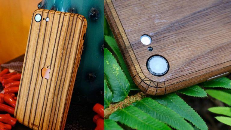 Тост iPhone SE 2020 Деревянная обложка Обзор
