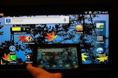 Galaxy Note 10.1 — Как отразить экран