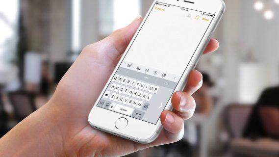 Как использовать одноручную клавиатуру iPhone в iOS 11