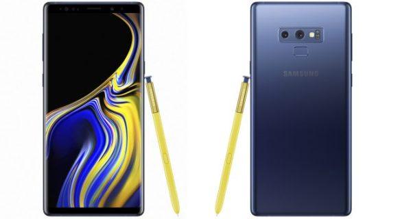Организация быстрых настроек на Samsung Galaxy Note 9