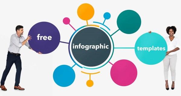 10 отличных и бесплатных инфографических шаблонов
