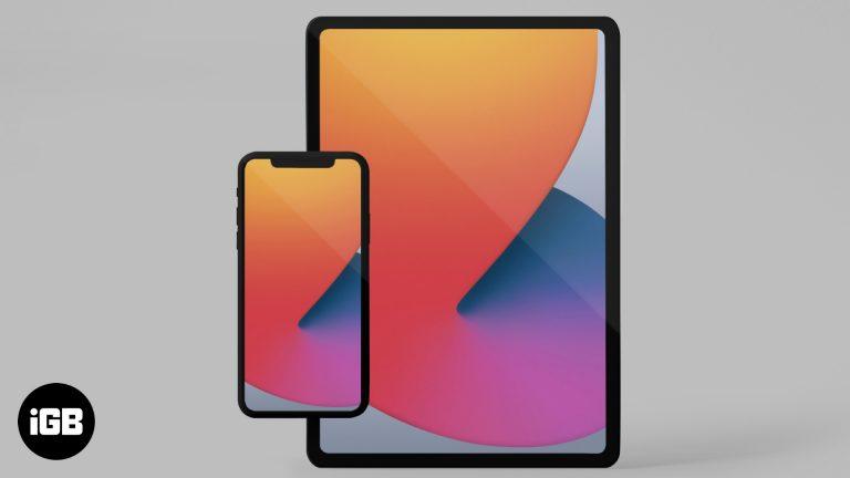 Скачать iOS 14 обои для iPhone и iPad