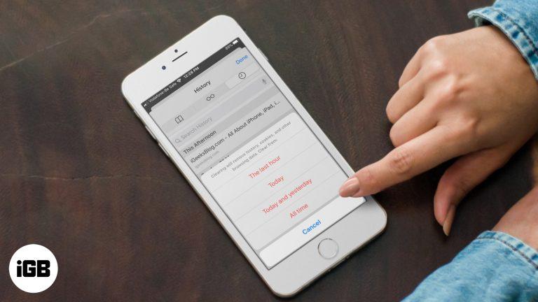 Как очистить кэш Safari, историю и файлы cookie на iPhone и iPad
