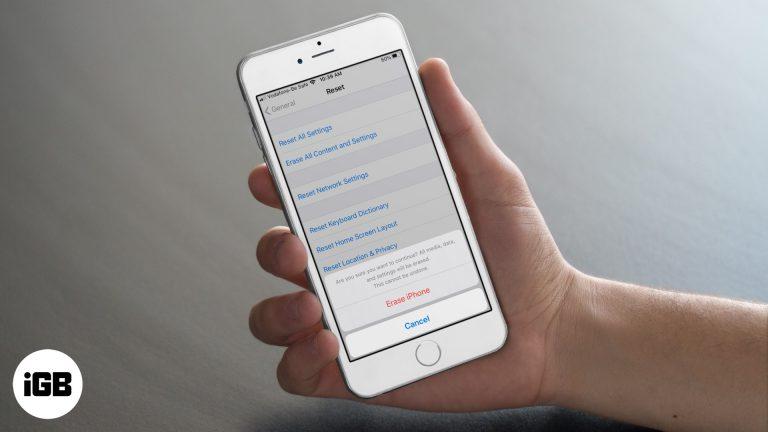 Как восстановить заводские настройки iPhone и iPad (полное руководство)