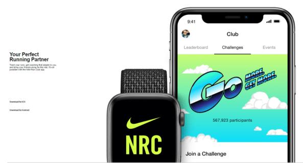 Как перейти с мили на километры в клубе Nike Run