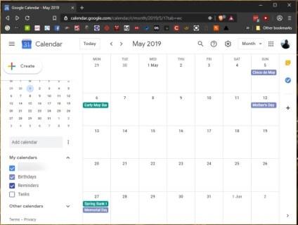 Как проверить чей-то другой календарь Google