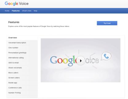Как создать номер Google Voice