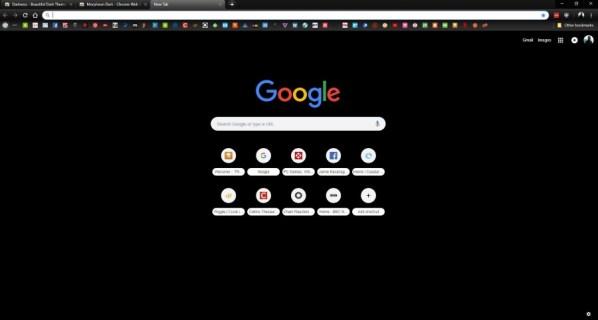 Как включить Chrome Dark Mode