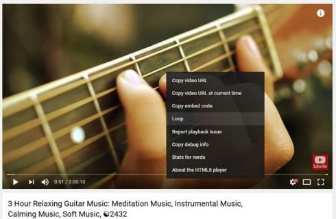 Как зациклить видео на YouTube и другие полезные хитрости