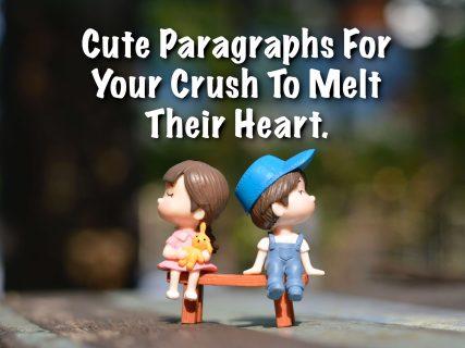 Милые параграфы, чтобы написать свой поклон, чтобы растопить их сердце