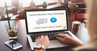 Как отправить сообщение со страницы Facebook