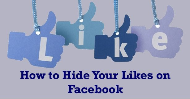 Как скрыть лайки на Facebook
