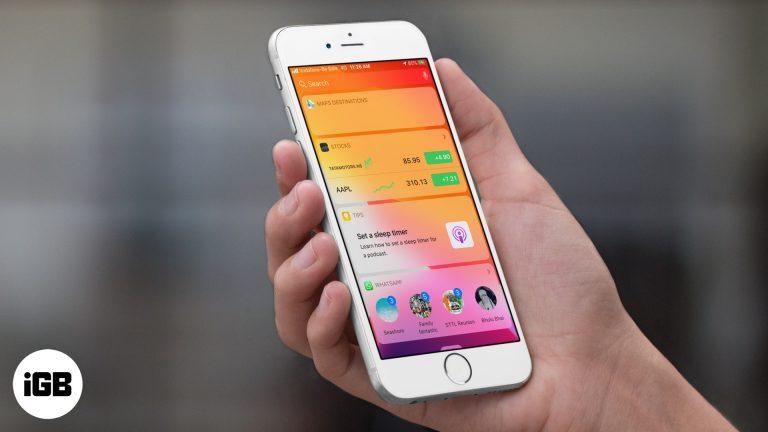Как добавить виджет WhatsApp на iPhone LockScreen