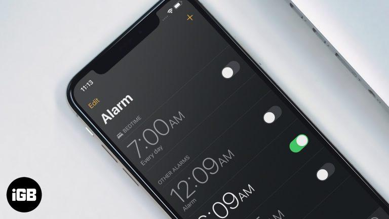 Как удалить будильник перед сном на iPhone и iPad