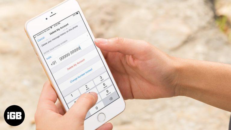 Как удалить учетную запись WhatsApp навсегда с iPhone