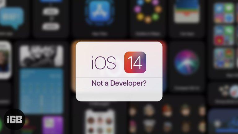 Как загрузить iOS 14 Beta 1 без учетной записи разработчика