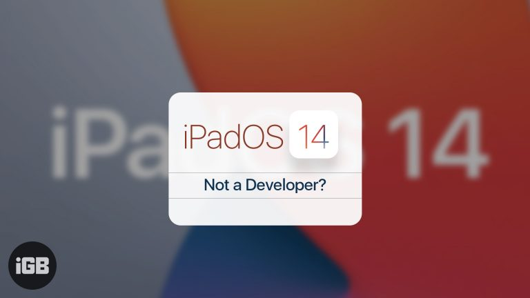 Как скачать iPadOS 14 Beta 1 без учетной записи разработчика