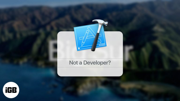 Как скачать macOS Big Sur Beta 1 без учетной записи разработчика