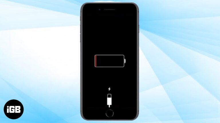 iPhone не заряжается? 9 способов исправить эту проблему